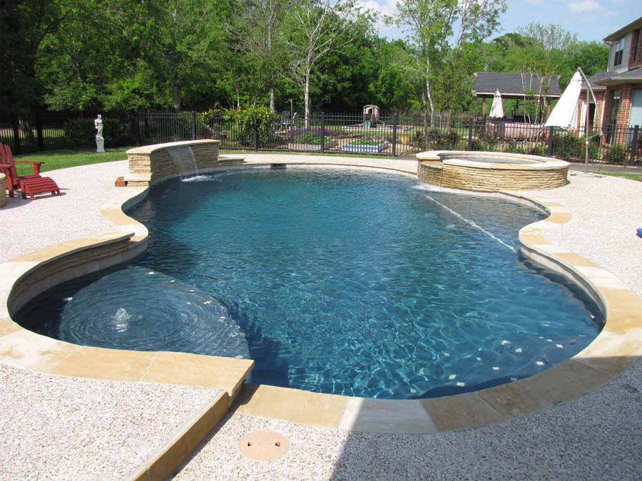 Building Your Own Swimming Pool In Katy Texas Aaron Layman Properties Houston Texas Homes