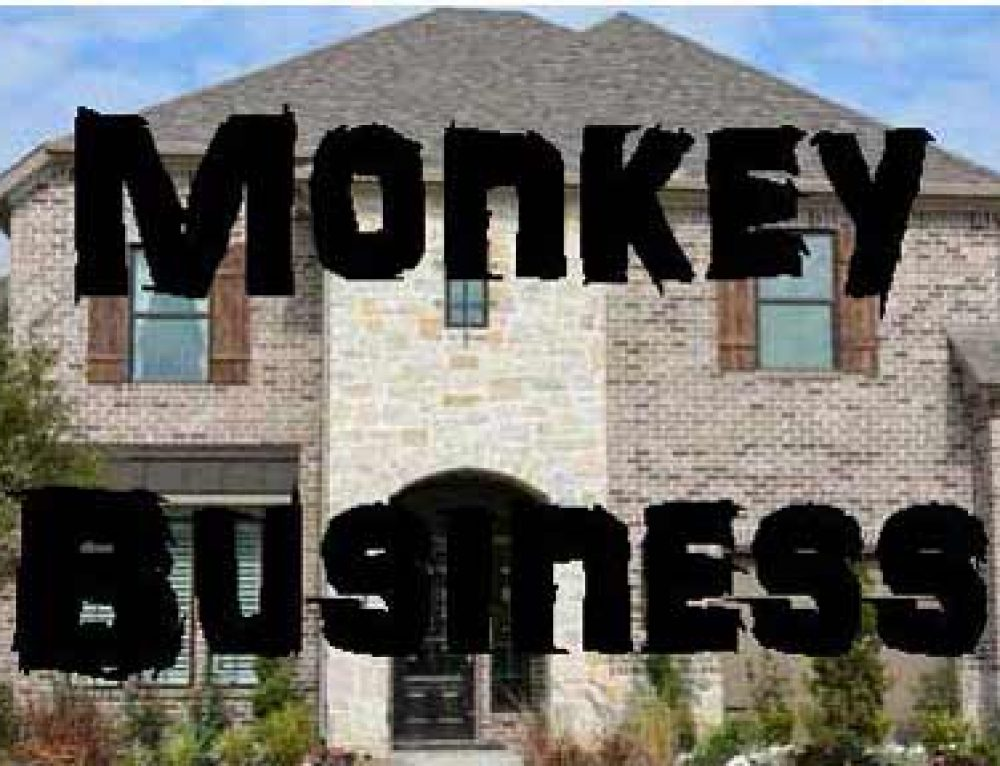 Monkey Business – Expert Says Affordable Homes Are Going Away