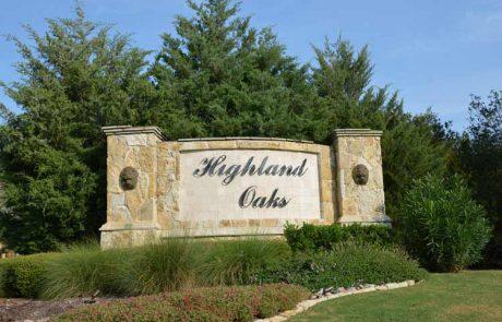 Highland Oaks Highland Village Tx