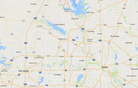 Corinth Tx in Relation to Dallas and Fort Worth