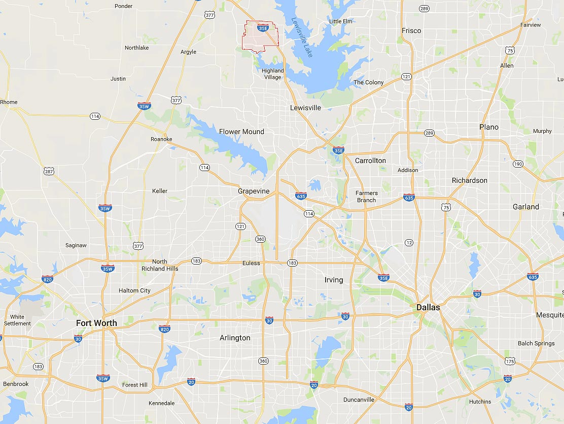 homes for sale in corinth tx  sorted by price range  location - corinth tx in relation to dallas and fort worth