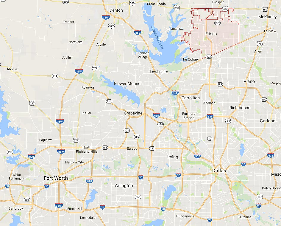 Map Of Texas Frisco.Homes For Sale In Frisco Tx Neighborhood Real Estate Guide