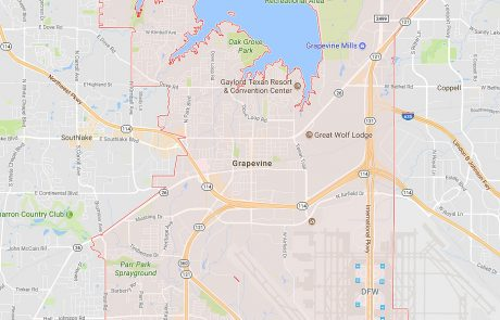 Grapevine Tx Real Estate Area Map