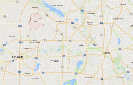 Keller Tx Real Estate Area in Relation to Dallas and Fort Worth
