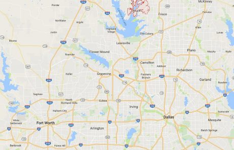 Little Elm Tx in Relation to Dallas and Fort Worth