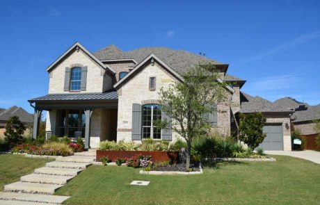 Denton County TX New Homes For Sale In Canyon Falls