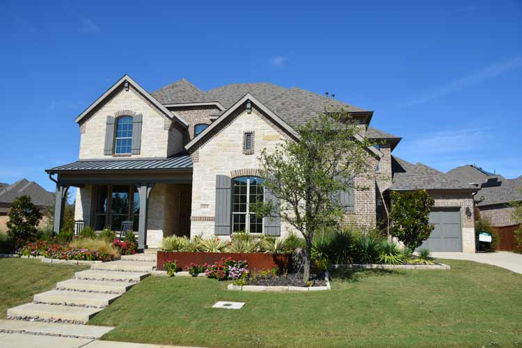 Denton County Tx New Homes For In Canyon Falls