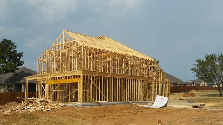 New home construction Denton County Texas