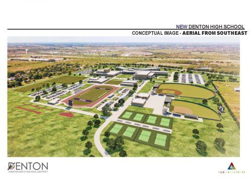New Denton High School Campus Design Plans Presented To School Board
